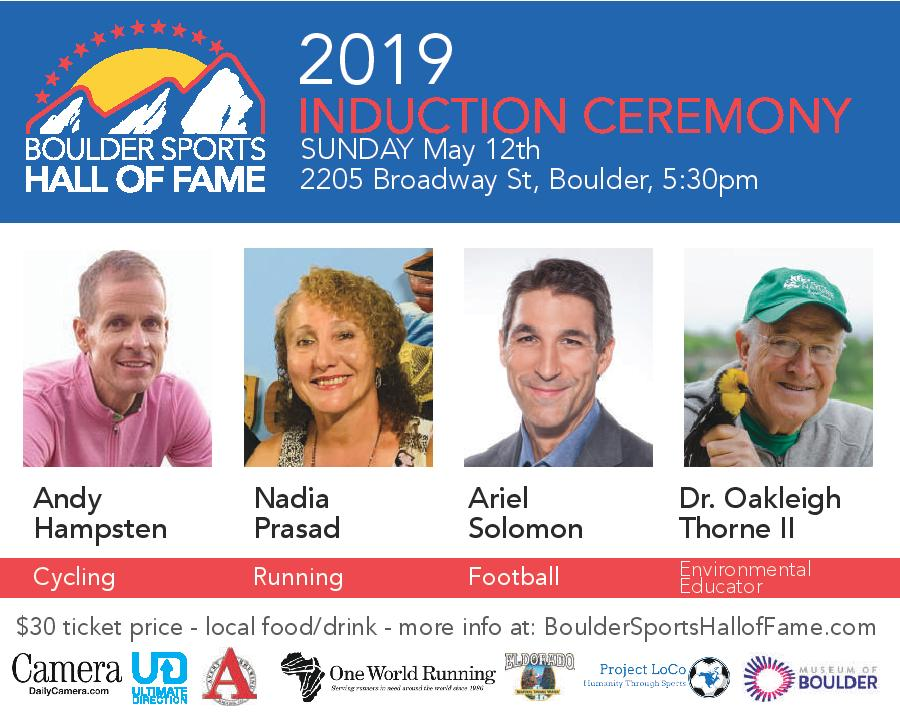 Boulder Sports Hall of Fame Class of 2019